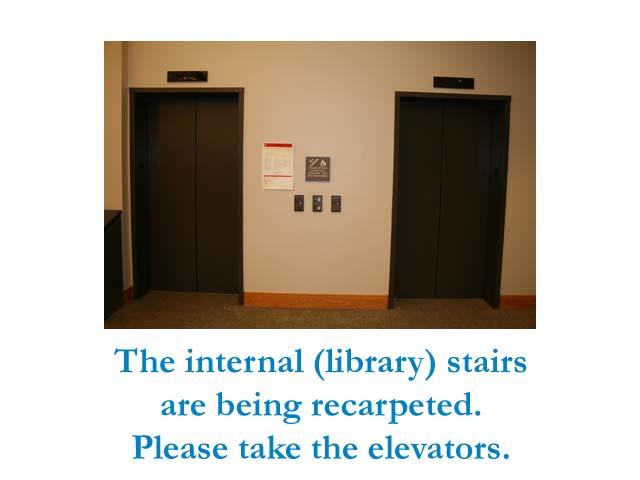 use elevators