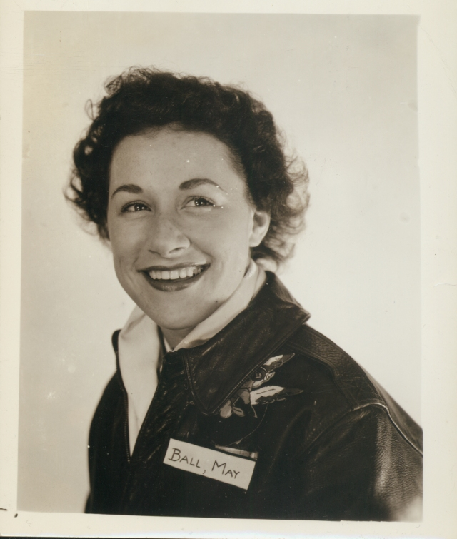 C-S00668, May Ball class of 1943, poses in her military uniform shortly after graduation. Augustana College Photograph Collection